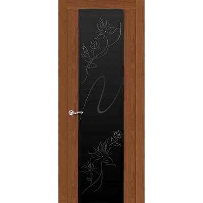 Ульяновская дверь Бриллиант американский орех ДО чёрное