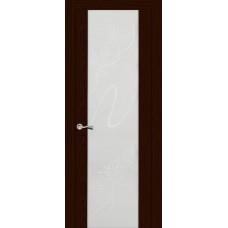 Ульяновская дверь Бриллиант ясень шоколад ДО