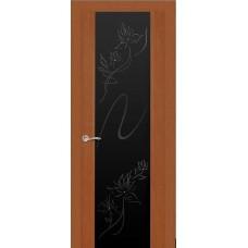 Ульяновская дверь Бриллиант тёмный анегри ДО чёрное