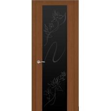 Ульяновская дверь Бриллиант тёмный дуб ДО чёрное