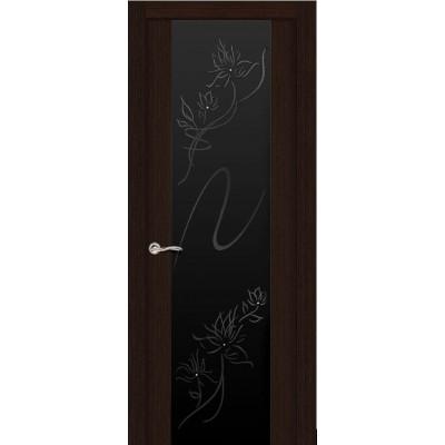 Ульяновская дверь Бриллиант венге ДО чёрное