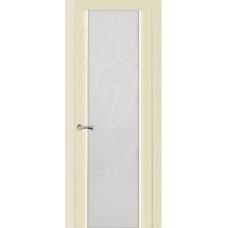 Ульяновская дверь Бриллиант ясень ваниль ДО