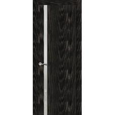 Ульяновская дверь Бриллиант-1 чёрный абрикос ДО