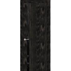 Ульяновская дверь Бриллиант-1 чёрный абрикос ДО чёрное