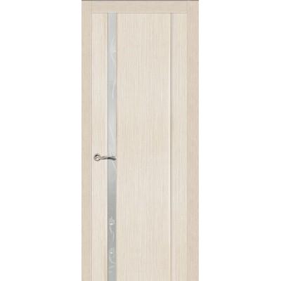 Ульяновская дверь Бриллиант-1 белёный дуб ДО