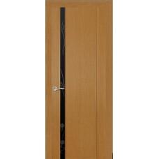 Ульяновская дверь Бриллиант-1 светлый анегри ДО чёрное