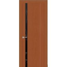 Ульяновская дверь Бриллиант-1 тёмный анегри ДО чёрное