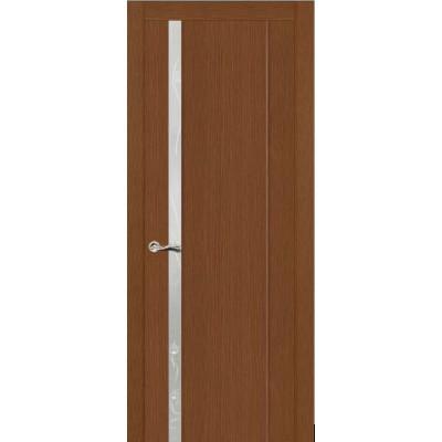 Ульяновская дверь Бриллиант-1 тёмный дуб ДО
