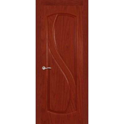 Ульяновская дверь Диамант красное дерево ДГ