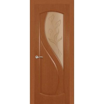 Ульяновская дверь Диамант тёмный анегри ДО