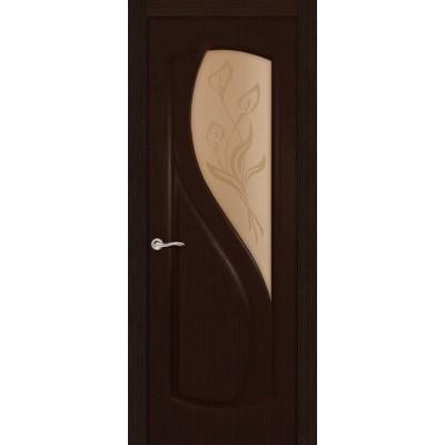Ульяновская дверь Диамант венге ДО