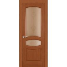 Ульяновская дверь Топаз тёмный анегри ДО