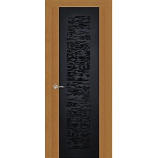 Ульяновская дверь Вейчи светлый анегри ДО чёрное
