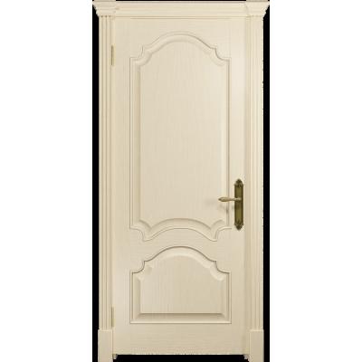 Ульяновская дверь Валенсия-1 ясень слоновая кость глухая