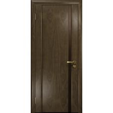 Ульяновская дверь Триумф-1 американский орех стекло триплекс бронзовый