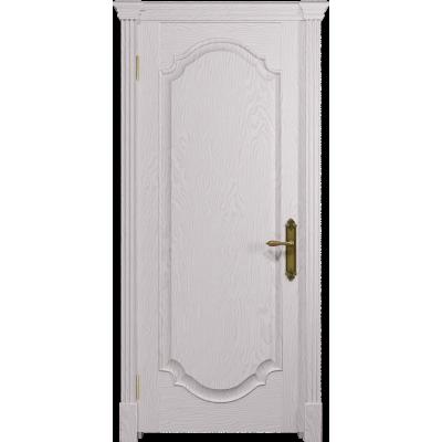 Ульяновская дверь Валенсия-2 ясень белый глухая