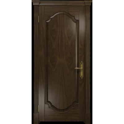 Ульяновская дверь Валенсия-2 американский орех тонированный глухая