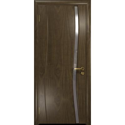 Ульяновская дверь Грация-1 американский орех стекло триплекс зеркало