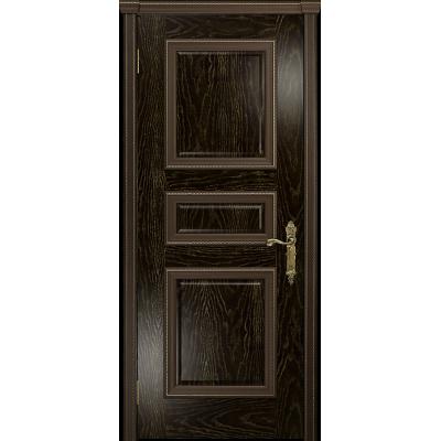 Ульяновская дверь Версаль-3 ясень венге золото глухая