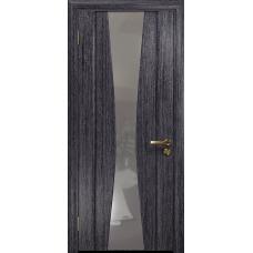 Ульяновская дверь Соната-2 абрикос стекло триплекс зеркало