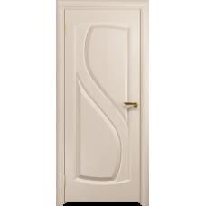 Ульяновская дверь Диона-1 дуб беленый глухая