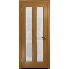 Ульяновская дверь Тесей анегри стекло белое пескоструйное «порта»