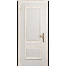 Ульяновская дверь Версаль-1 Декор ясень белый глухая