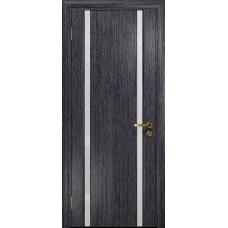 Ульяновская дверь Триумф-2 абрикос стекло триплекс белый