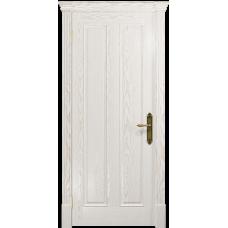 Ульяновская дверь Неаполь ясень белый золото глухая