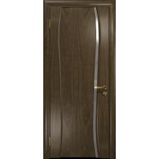 Ульяновская дверь Портелло-1 американский орех стекло триплекс зеркало