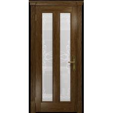 Ульяновская дверь Неаполь сукупира стекло белое пескоструйное «порта»