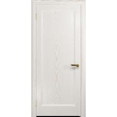 Ульяновская дверь Миланика-1 ясень белый золото глухая