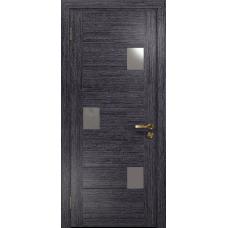 Ульяновская дверь Ронда-1 абрикос стекло триплекс зеркало