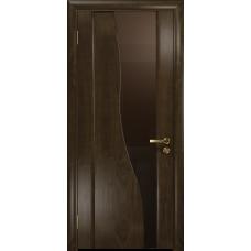 Ульяновская дверь Торелло американский орех тонированный стекло триплекс бронзовый