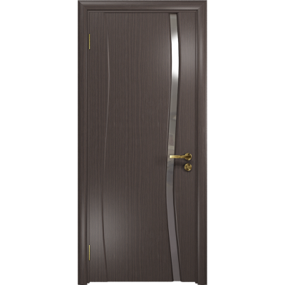 Ульяновская дверь Грация-1 эвкалипт стекло триплекс зеркало