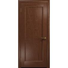 Ульяновская дверь Торино красное дерево глухая