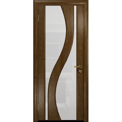 Ульяновская дверь Веста сукупира стекло триплекс белый