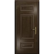 Ульяновская дверь Версаль-4 американский орех тонированный глухая