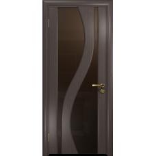 Ульяновская дверь Веста эвкалипт стекло триплекс бронзовый