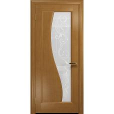Ульяновская дверь Фрея-1 анегри стекло белое пескоструйное «сабина»
