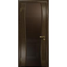 Ульяновская дверь Портелло-2 американский орех тонированный стекло триплекс бронзовый
