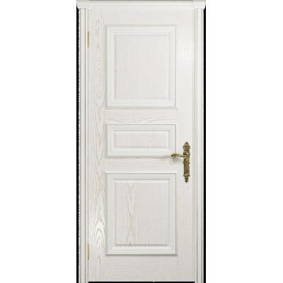 Ульяновская дверь Версаль-3 ясень белый золото глухая