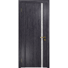 Ульяновская дверь Триумф-1 абрикос стекло триплекс белый 3d «куб»