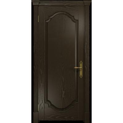 Ульяновская дверь Валенсия-2 ясень венге глухая