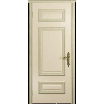 Ульяновская дверь Версаль-4 ясень слоновая кость глухая