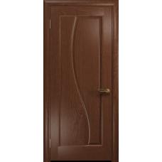 Ульяновская дверь Фрея-1 красное дерево глухая