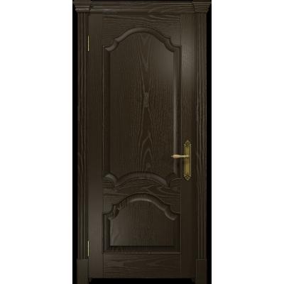 Ульяновская дверь Валенсия-1 ясень венге глухая