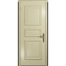 Ульяновская дверь Версаль-3 эмаль слоновая кость глухая