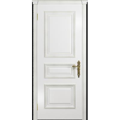 Ульяновская дверь Версаль-2 Декор эмаль белая глухая
