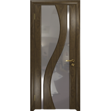 Ульяновская дверь Веста американский орех стекло триплекс зеркало